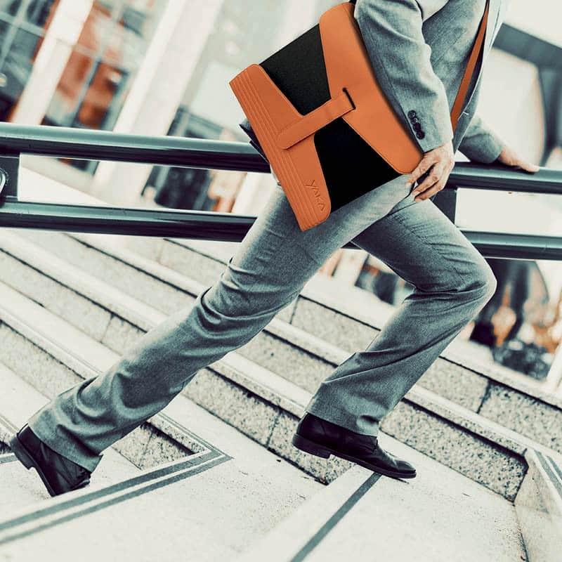 orange file holder, YAKA orange