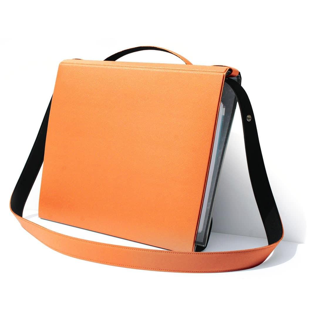 porte classeur orange, YAKA orange